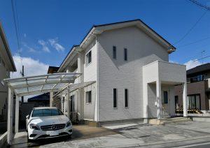 長野市柳原 新築 白い家